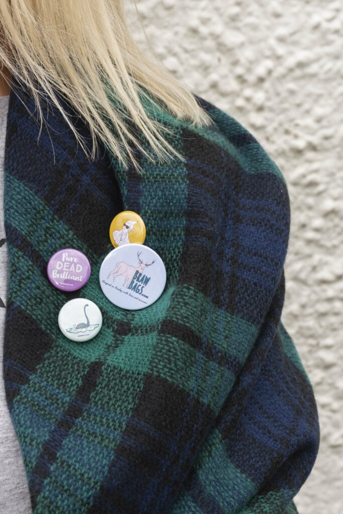 Braw Wee Badges